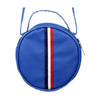 Fancy Round Shape Hand Bag - Royal Blue (003)