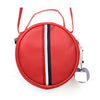 Fancy Round Shape Hand Bag - Red (006)