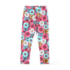 Flowers Printed Tights For Girls - Multi (GT-027)