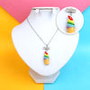 Ice Cup Chain Locket For Girls (12537)