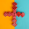 Fancy Hair Pin For Girls - Red (12024)