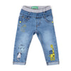 Catty Denim Pant For Boys - Mid Blue (DP-29)