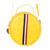 Fancy Round Shape Hand Bag - Yellow (005)
