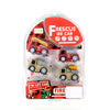 Fire Rescue Mini Trucks - 4 PCs (768-42)