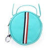 Fancy Round Shape Hand Bag - Sea Green (001)