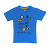 Weekend Plane T-Shirt For Boys - Brill Blue (BTS-086)