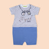 Fancy Romper For Boys - Blue (3039)