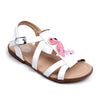 Flamingo Sandals For Girls - White (2020-29)
