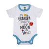 Grandpa Loves Me Romper For Unisex - White (IS-27)