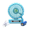 Portable Table Fan For Kids - Blue (E18)