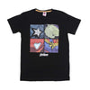 Superheroes T-Shirt For Boys - Black (BTS-081)