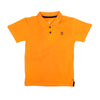 Basic Polo Shirt For Boys - Orange (BTS-020)