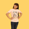 Fabulous T-Shirt For Girls - Pink (CT-084)