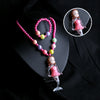 Mermaid Lightning Necklace - Pink (12532)