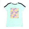 Pineapple T-Shirt For Girls - Green (GTS-083)