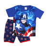 Superhero 2 PCs Suit For Boys - Blue (SB-039)