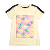 Pineapple T-Shirt For Girls - Anti White (CT-088)