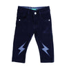 Flash Knee Denim Pant For Boys - Navy (DP-24)