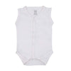 White Series Open Romper For Infant - White (BTS-060)
