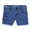 Cargo Pocket Denim Pant For Boys - Blue (DP-02)