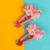 Unicorn Hair Pin For Girls - Pink (12024)
