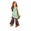 Fancy Stylish Eastern 3Pcs Suit For Girls - Sea Green (E3PC-07)