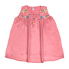 Flower Embroidery Top For Girls - Rose Pink (CT-047)