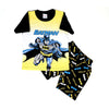 Batman 2 PCs Suit For Boys - Yellow/Black (SB-034)