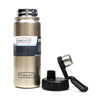 SUS 304 Stainless Steel Water Bottle 650ml - Gold (KD-859)