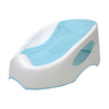 Comfortable Baby Bather - Blue/White (B-80)