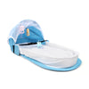 Portable Baby Bed Bag - Blue (9841)