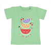 Sweet Summer T'Shirt For Girls - Green (BTS-039)