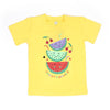 Sweet Summer T'Shirt For Girls - Yellow (BTS-040)