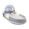 Portable Baby Bed Bag - Grey (9841)
