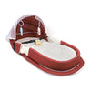 Portable Baby Bed Bag - Maroon (9841)