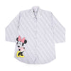 Minnie Mouse Casual Shirt For Girls - White (BTS-034)