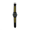 Sports Wrist Watch - Black/Yellow (WW-25)