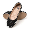Stars Casual Pumps For Girls - Black (SP-12)