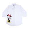 Minnie Mouse Casual Shirt For Girls - Pink (BTS-033)