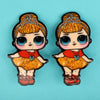 Character Hair Pin For Girls - Multi (9010-10)