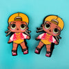 Character Hair Pin For Girls - Multi (9010-9)