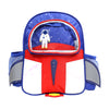 Space Ship Backpack For Kids - Royal Blue (BP-17)