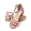 Fancy Heel Sandals For Girls - Pink (A-7019S)