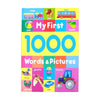 My First 1000 Words & Pictures Book For Kids - (SB-05)