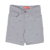 Pineapple Print Cotton Short For Boys - Silver Grey (CS-011)