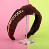 Fancy Stylish Hair Band For Girl - Maroon (0073)