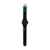 Wrist Watch For Kids - Black/Green (WW-20)