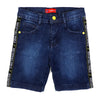 Unstop Tape Denim Short For Boys - Mid Blue (DS-010)