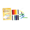 Flexcils Flexible Colouring Pencil - 24 PCs (CP-09)