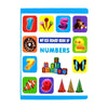My Big Board Numbers Book For Kids - (SB-06)